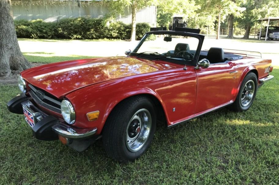 Supercharged 1976 Triumph TR6