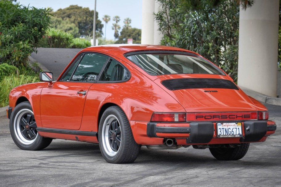 Peru Red 1977 Porsche 911S