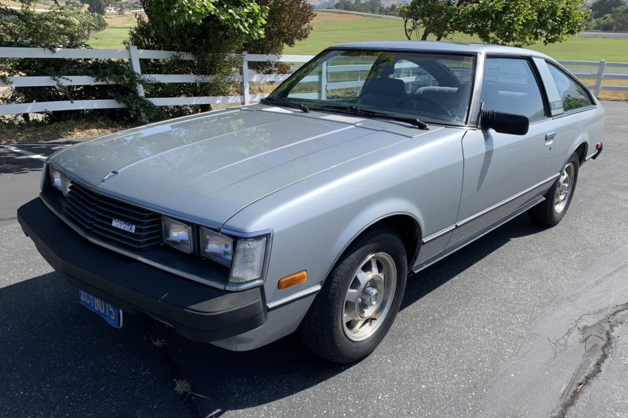 No Reserve: 1981 Toyota Celica GT 5-Speed