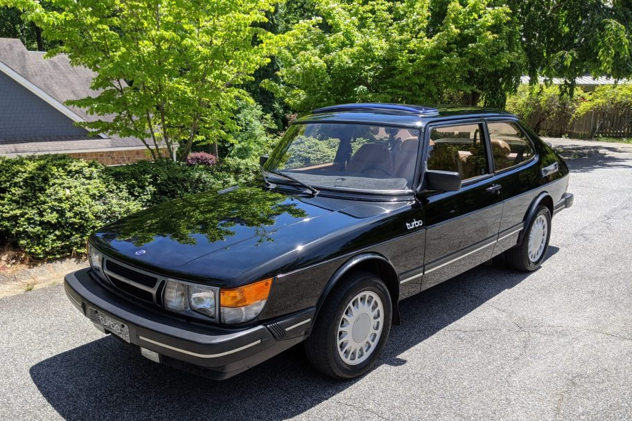 No Reserve: 1985 Saab 900 Turbo Coupe 5-Speed