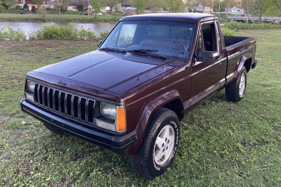 No Reserve: 1988 Jeep Comanche Pioneer 4x4 5-Speed
