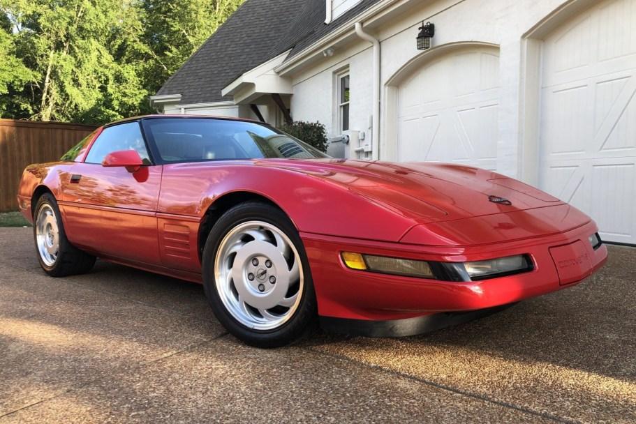 41k-Mile 1992 Chevrolet Corvette Coupe 6-Speed