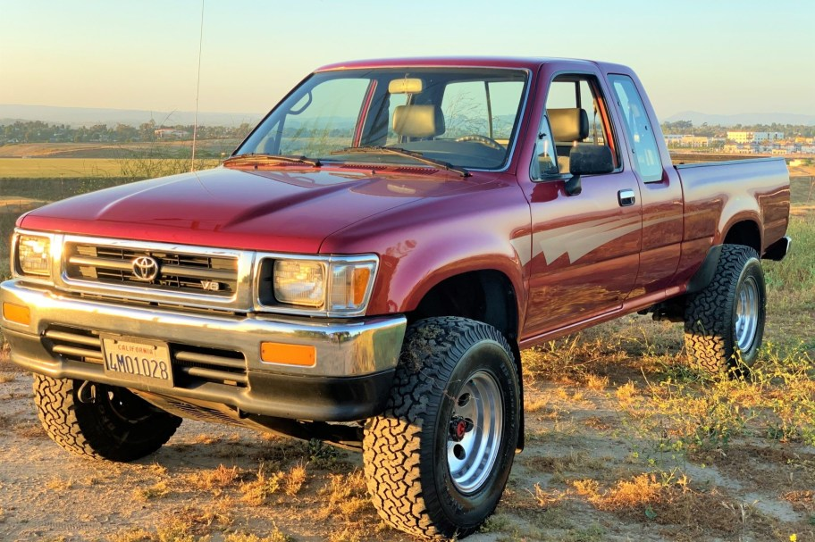 No Reserve: One-Owner 1992 Toyota XtraCab 4x4 Pickup