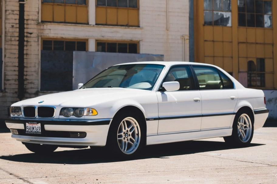 No Reserve: 2001 BMW 740iL