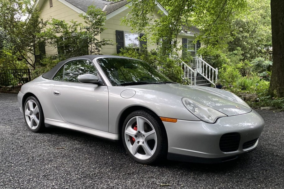2004 Porsche 911 Carrera 4S Cabriolet 6-Speed