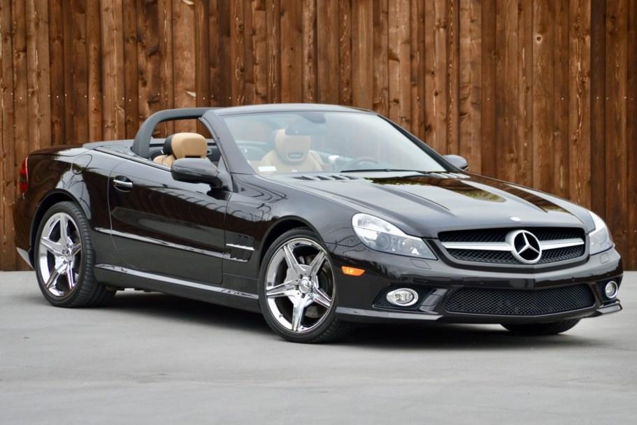 No Reserve: 2009 Mercedes-Benz SL550 Designo Espresso Edition