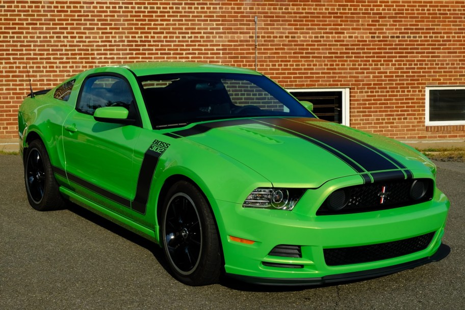 1,500-Mile 2013 Ford Mustang Boss 302