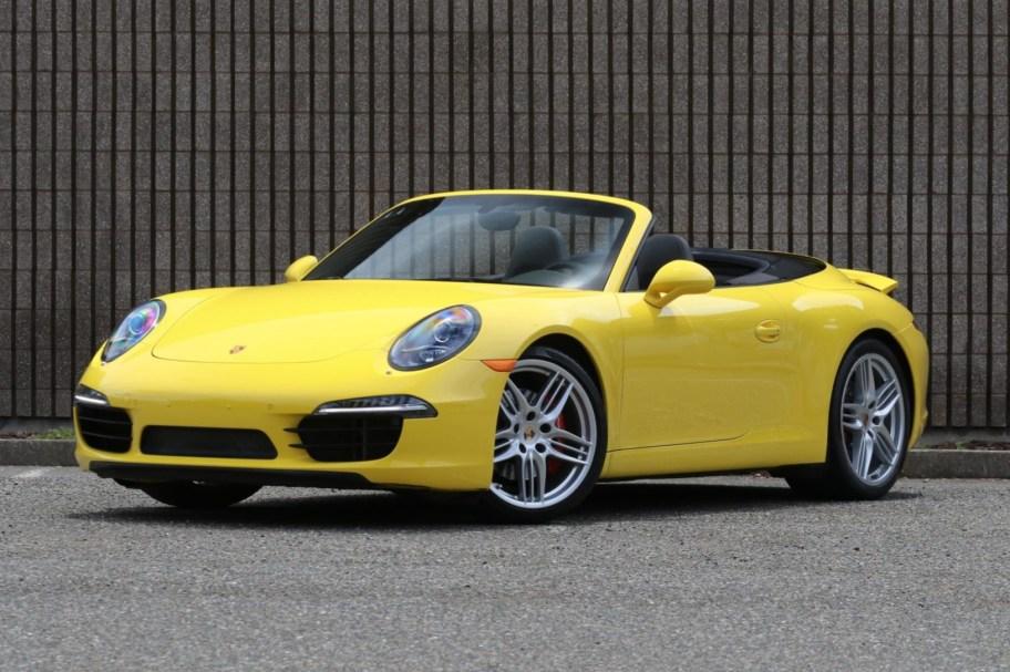 No Reserve: 2015 Porsche Carrera S Cabriolet