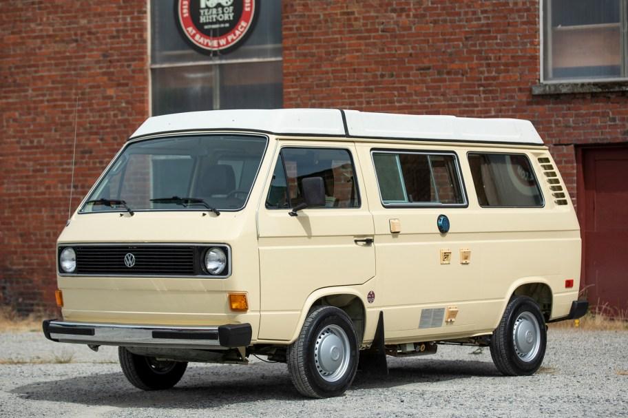 No Reserve: 1980 Volkswagen Vanagon Westfalia