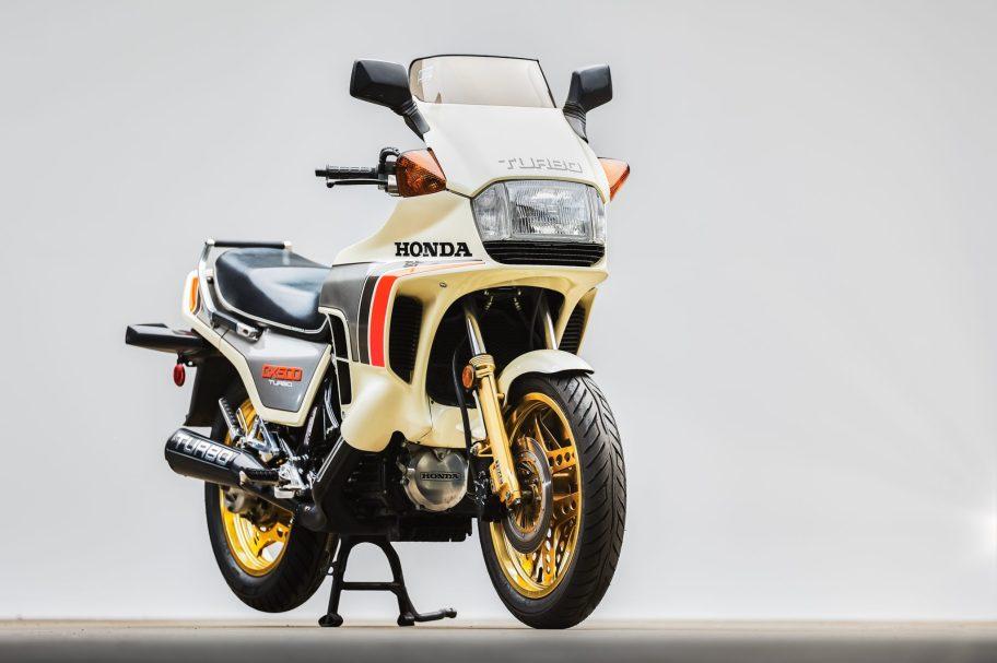 No Reserve: 520-Mile 1982 Honda CX500 Turbo