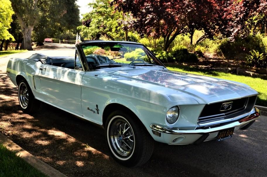 J-Code 1968 Ford Mustang Convertible
