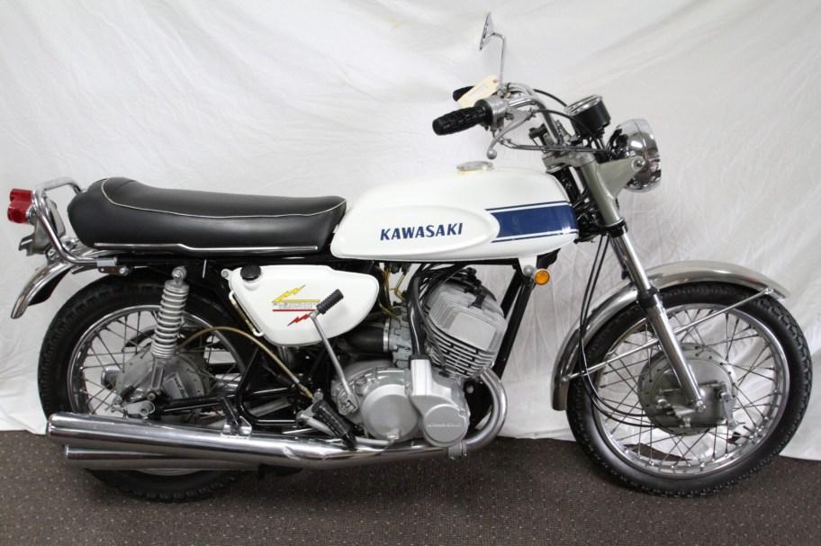 No Reserve: 1969 Kawasaki H1 Mach III 500