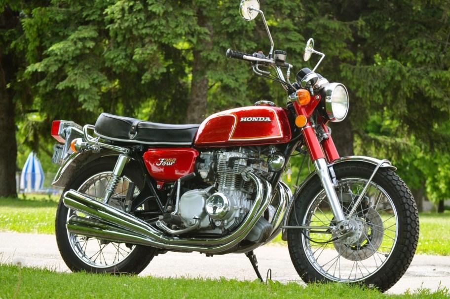 No Reserve: 1973 Honda CB350F