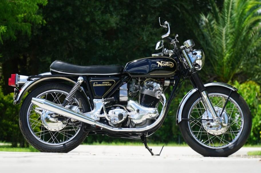 No Reserve: 1973 Norton 850 Commando