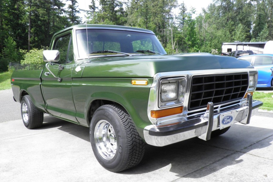 No Reserve: 455-Powered 1976 Ford F-100 Custom