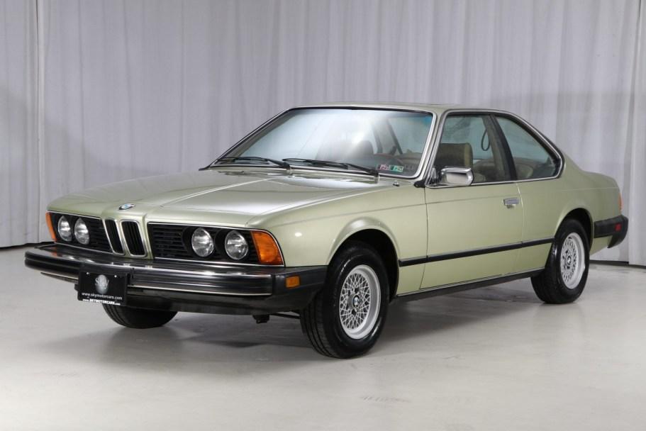 1978 BMW 633CSi 4-Speed