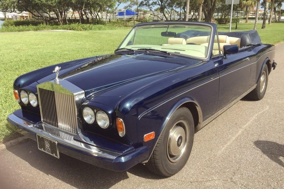 1984 Rolls-Royce Corniche Convertible
