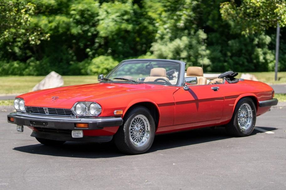 No Reserve: 32k-Mile 1989 Jaguar XJS V12 Convertible