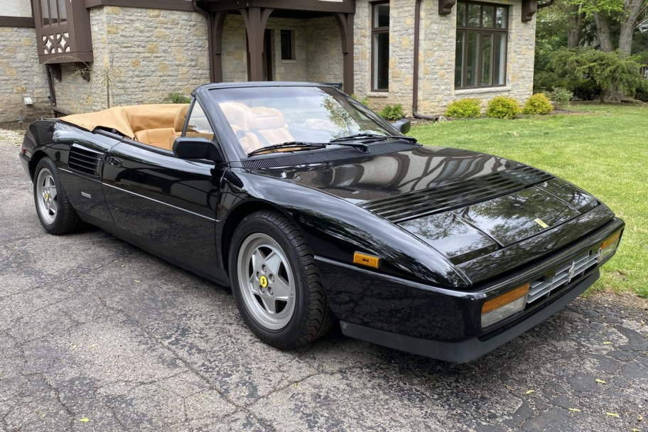 No Reserve: 1990 Ferrari Mondial T Cabriolet