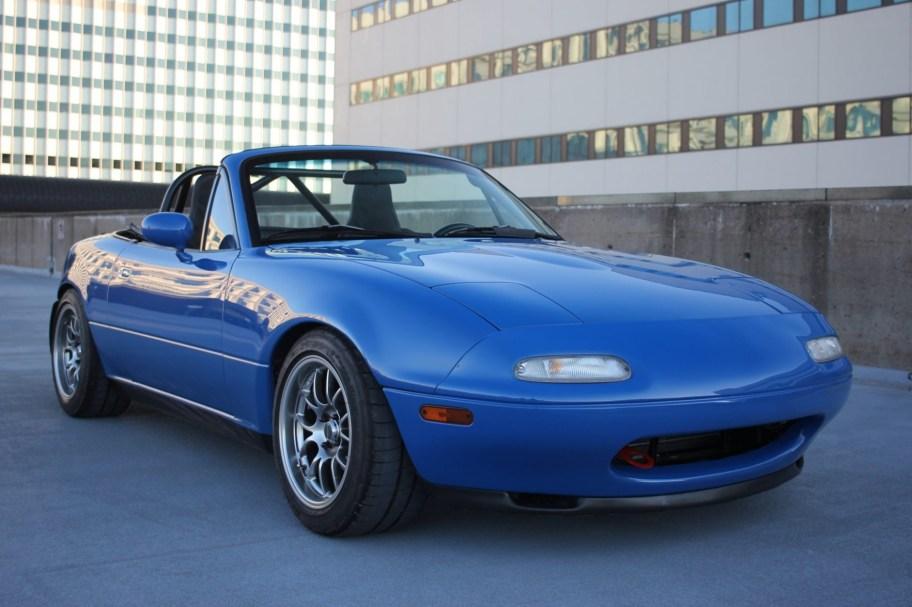 No Reserve: Supercharged 1991 Mazda MX-5 Miata
