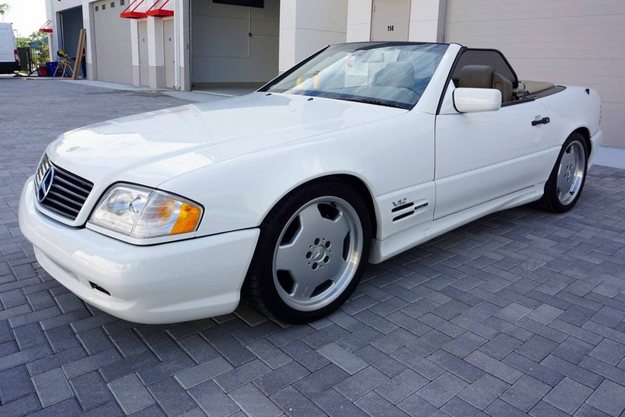 14k-Mile 1998 Mercedes-Benz SL600