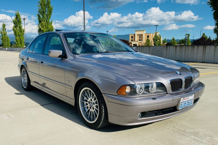 No Reserve: 40k-Mile 2001 BMW 540i Sport
