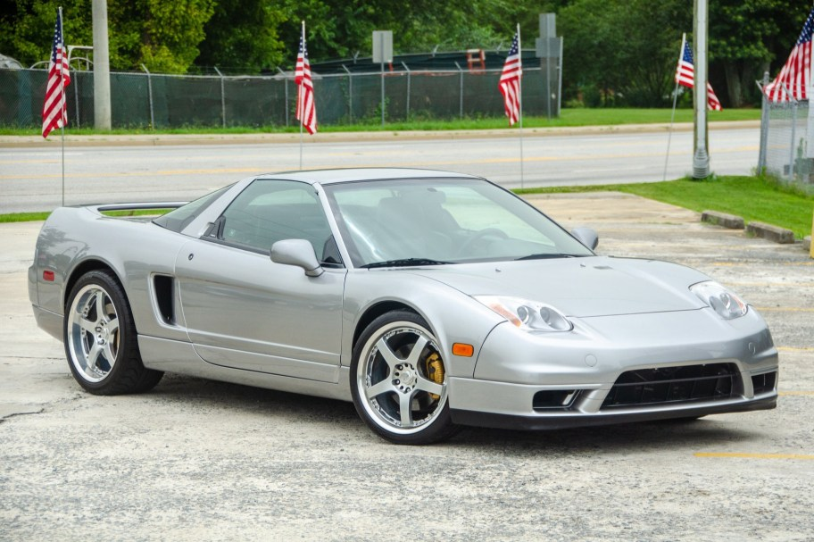 No Reserve: 33k-Mile 2005 Acura NSX-T 6-Speed