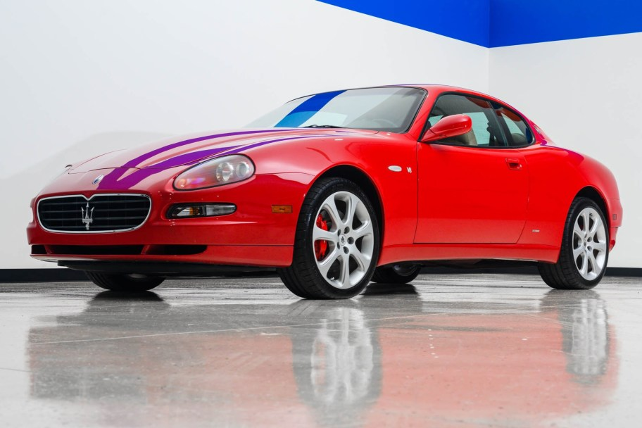 28k-Mile 2005 Maserati Coupe GT 6-Speed