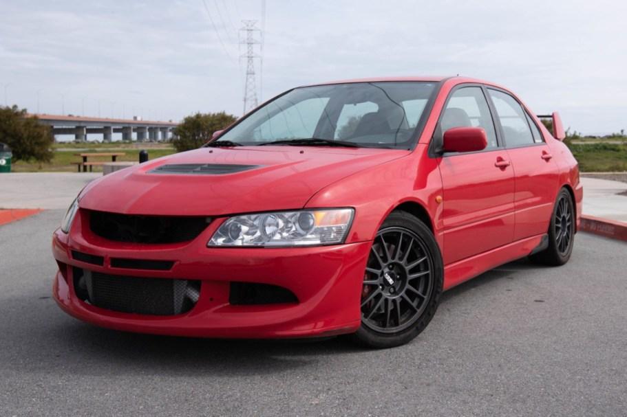 No Reserve: One-Owner 2005 Mitsubishi Evolution VIII MR