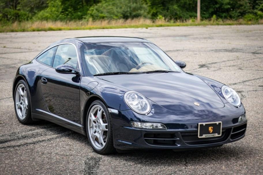 31k-Mile 2007 Porsche 911 Targa 4S 6-Speed