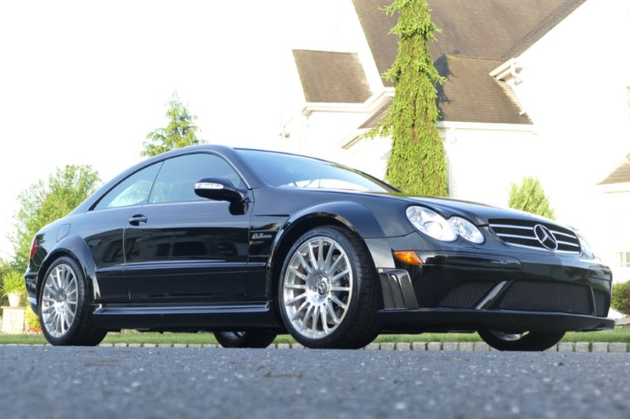 1,600-Mile 2008 Mercedes-Benz CLK63 AMG Black Series