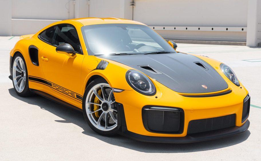 Signal Yellow 2018 Porsche 911 GT2 RS