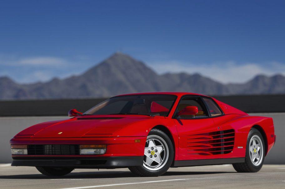 18k-Mile 1991 Ferrari Testarossa