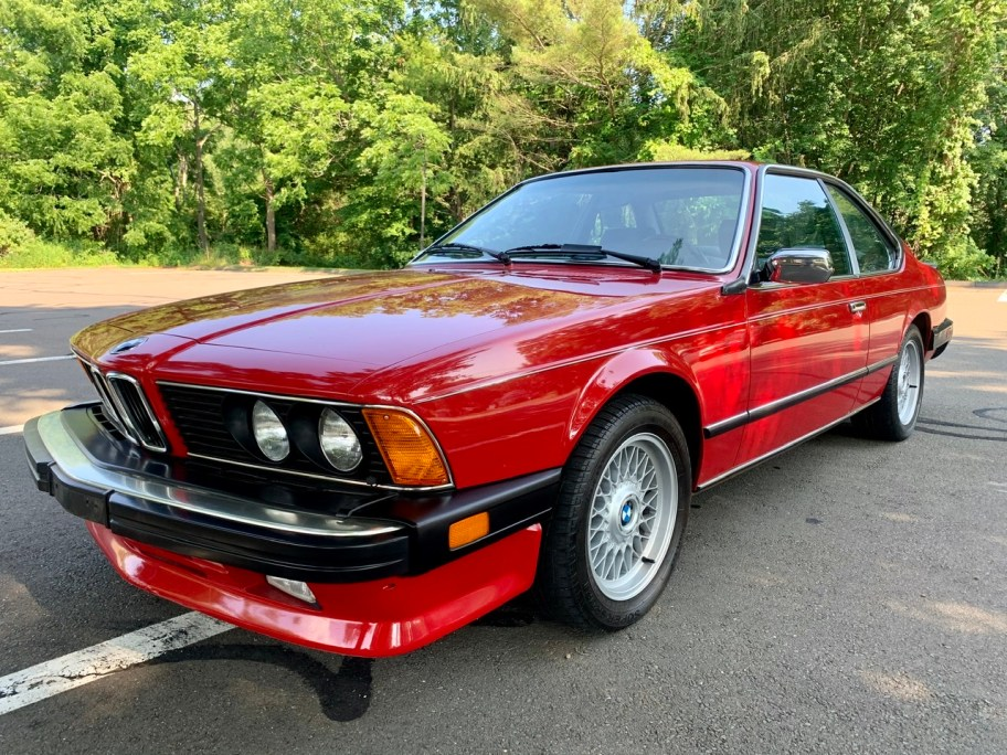 1987 BMW 635CSi 5-Speed