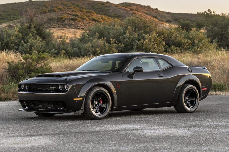 200-Mile 2018 Dodge Challenger SRT Demon w/Carbon Fiber Body