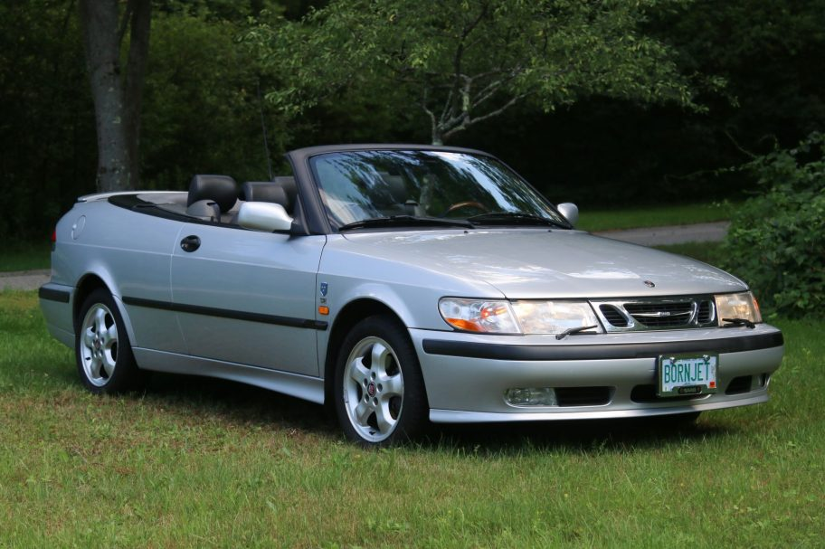 No Reserve: 45k-Mile 2000 Saab 9-3 SE Convertible 5-Speed