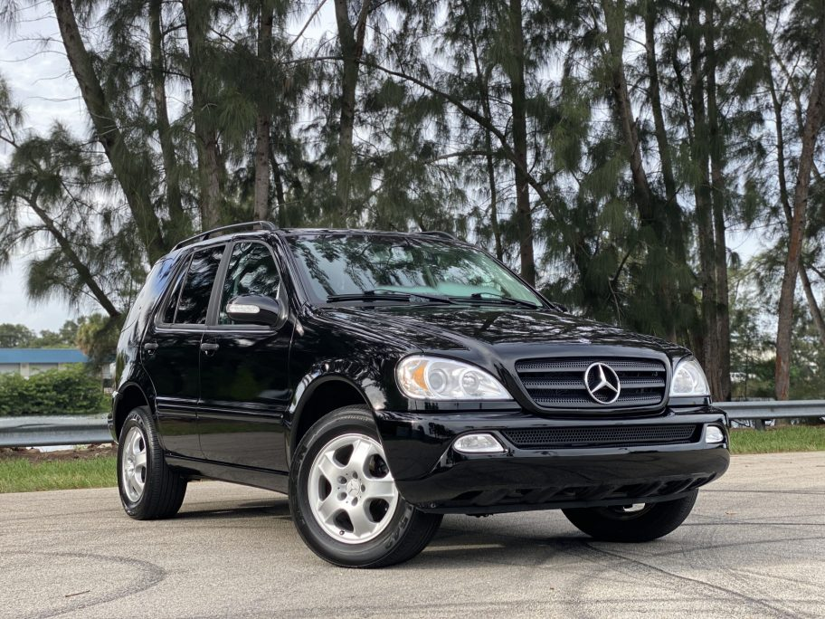 No Reserve: 39k-Mile 2003 Mercedes-Benz ML320