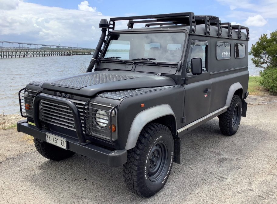 No Reserve: 1995 Land Rover Defender 110 300Tdi