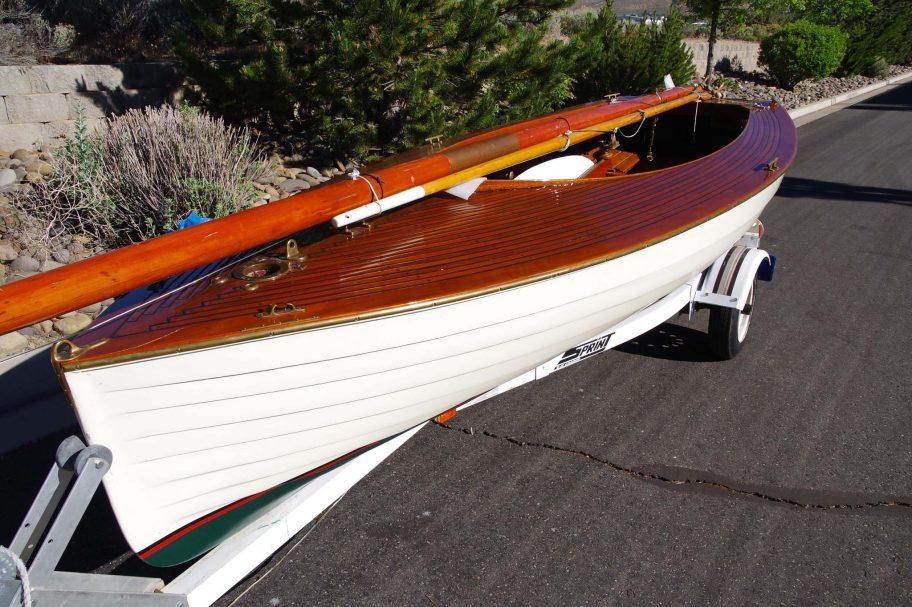 No Reserve: 1915 Canadian Boat Company 14' Gunter Rig Sailboat