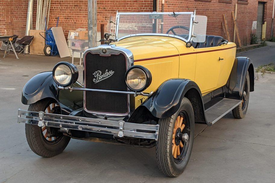1926 Peerless 6-60 Boattail Speedster