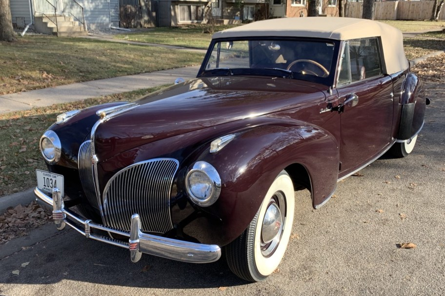 1941 Lincoln Continental Cabriolet