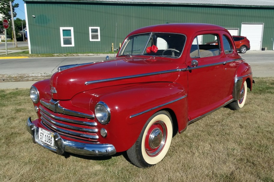 No Reserve: 1948 Ford Super Deluxe Coupe