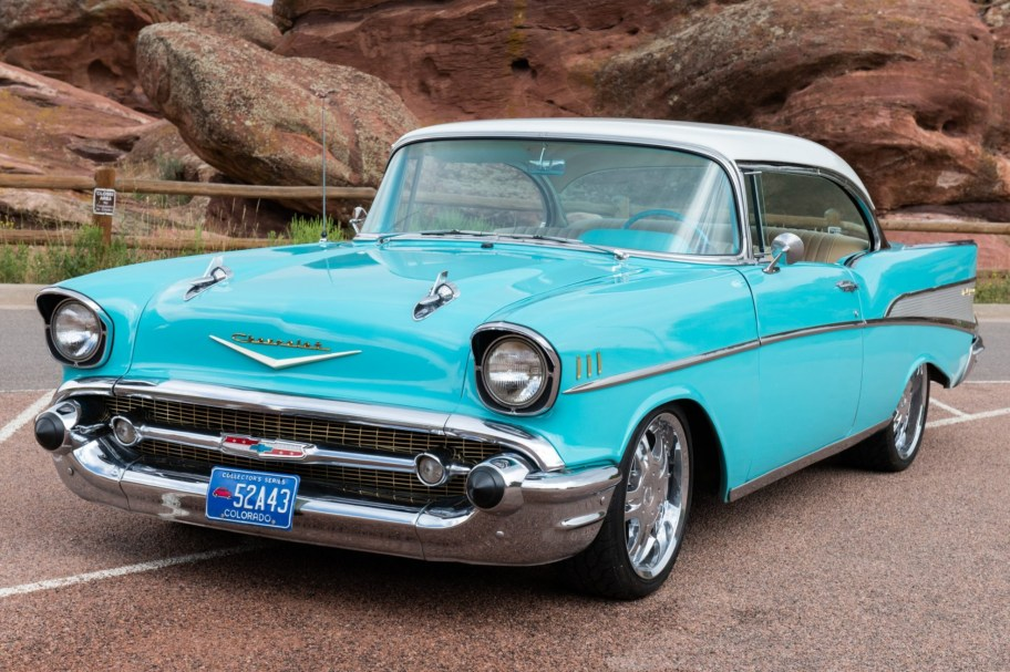 26-Years-Owned Modified 1957 Chevrolet Bel Air Sport Coupe