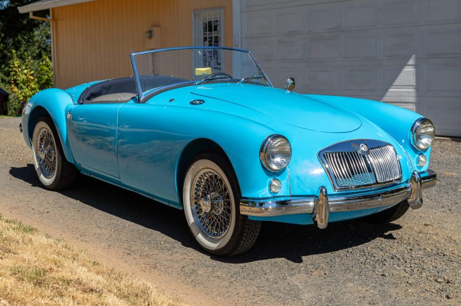Supercharged 1959 MG MGA Roadster 5-Speed