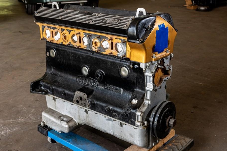 No Reserve: 1962 Jaguar 3.8 XK Engine
