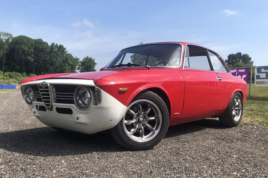 Modified 1967 Alfa Romeo Giulia Sprint GT Veloce