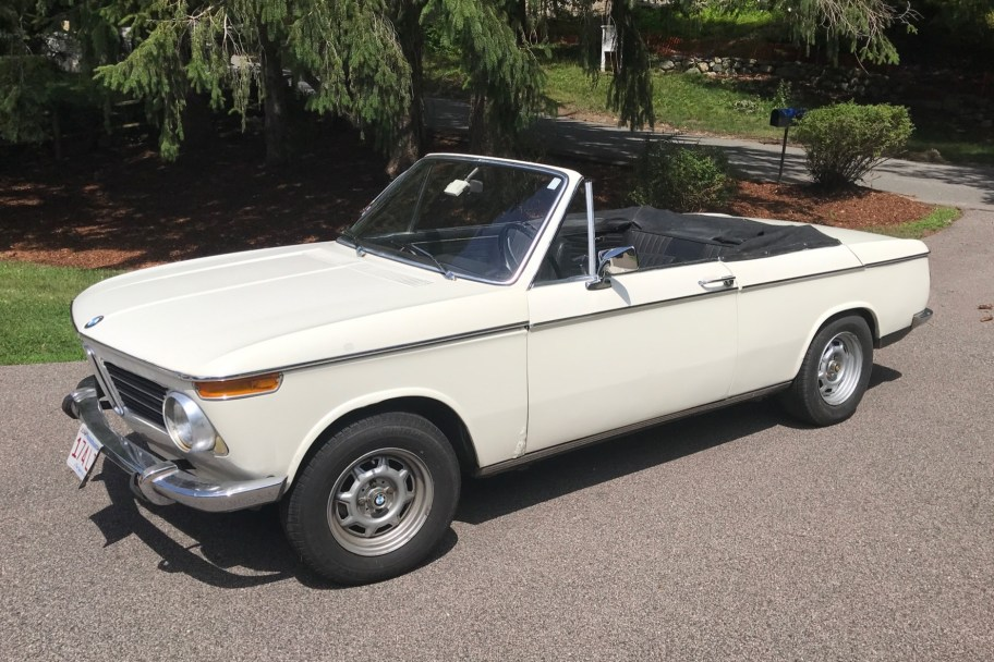 40-Years-Owned 1968 BMW 1600 Cabriolet 4-Speed