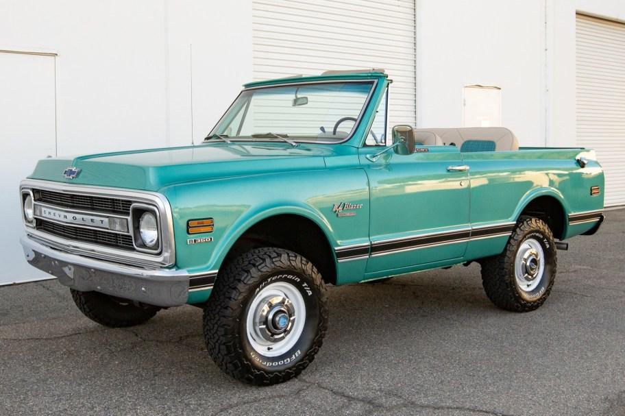 No Reserve: 1970 Chevrolet K5 Blazer CST 4x4