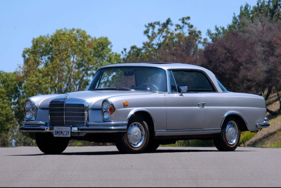 Euro 1970 Mercedes-Benz 280SE 3.5 Coupe