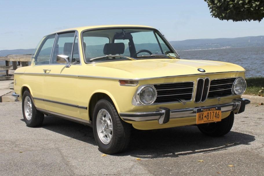 Euro 1973 BMW 2002tii 5-Speed